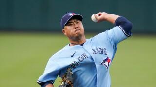 Hyun Jin Ryu Blue Jays Baseball
