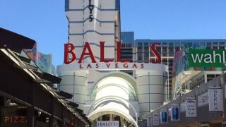 Bally's Las Vegas sign is missing the 'Y'