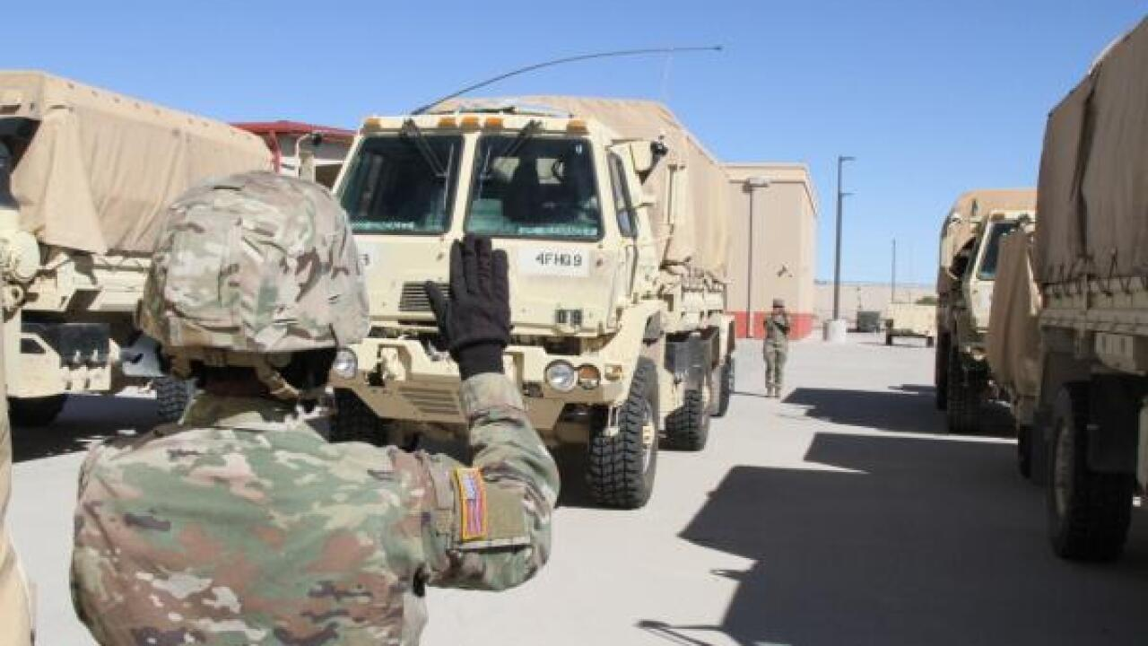 border troops fort bliss