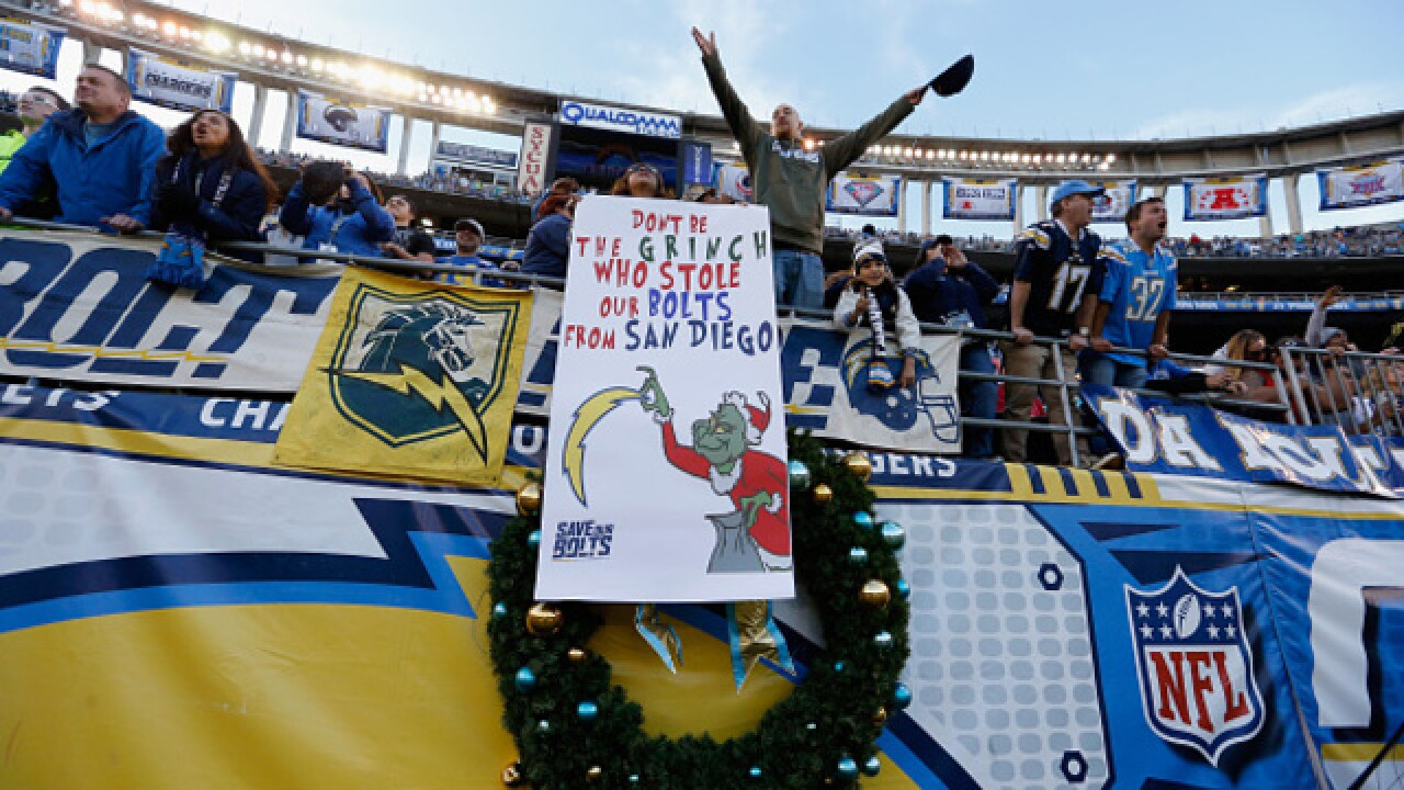 San Diego submits Charger stadium plan to NFL