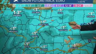 Tracking light rain and snow overnight