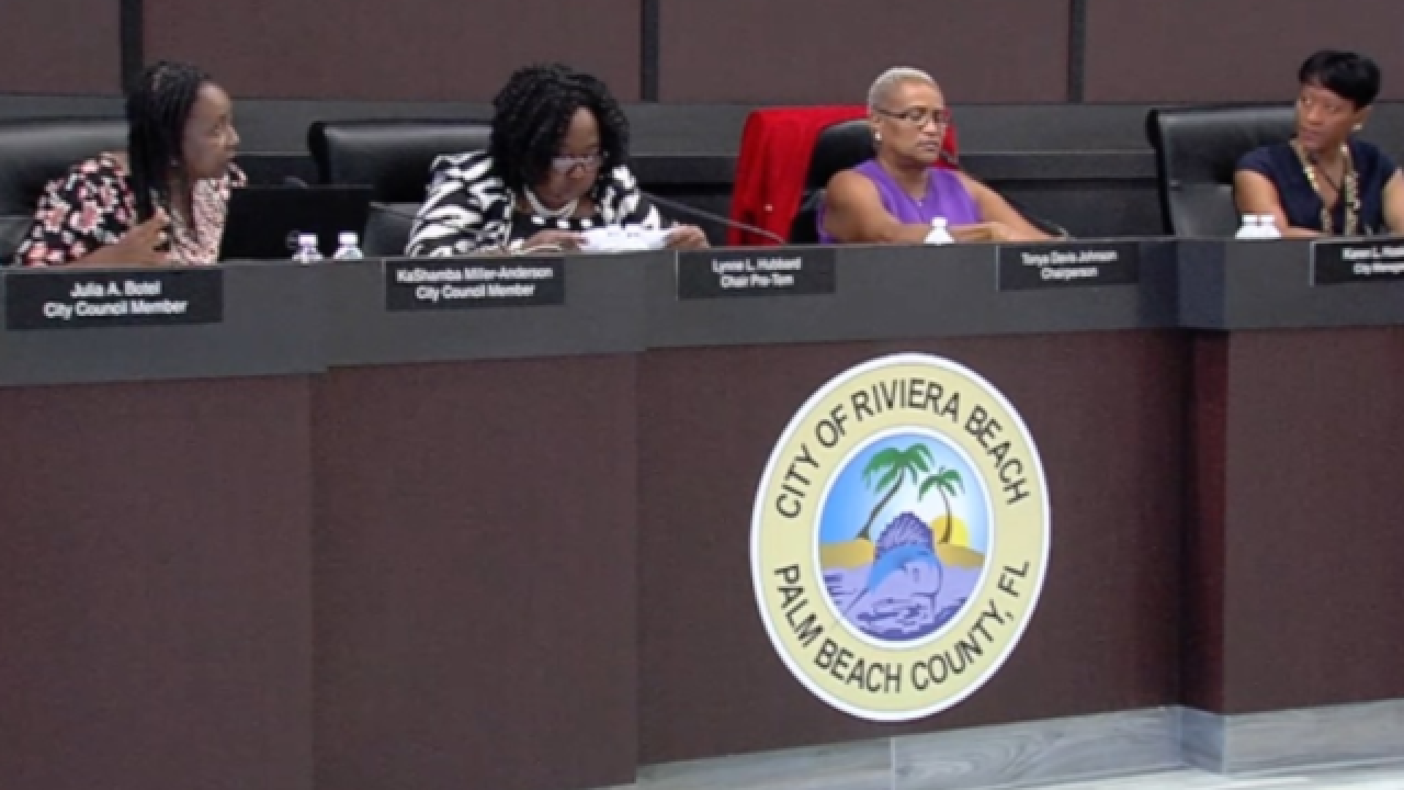 Riviera Beach pay debacle: city officials backtrack blame on bank, investigate city employee