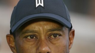 tiger woods face hat