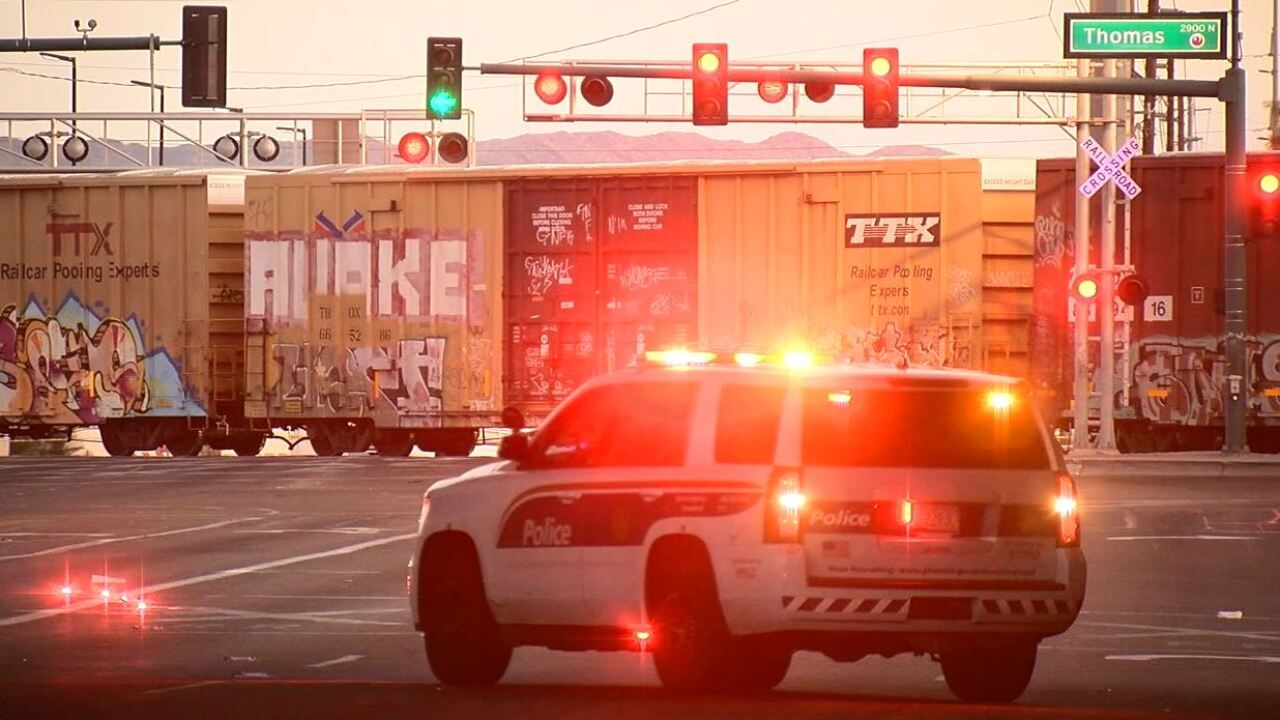 Woman struck, killed by train near 27th Avenue and Thomas Road