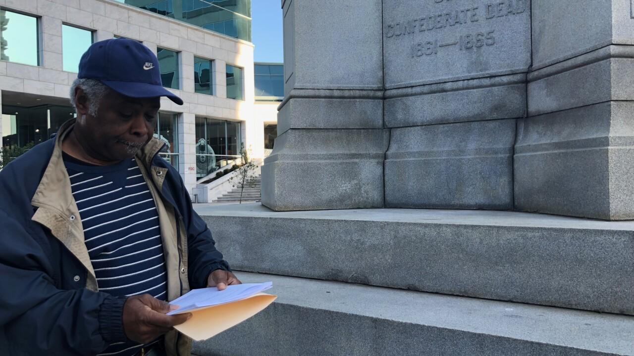 Activists sue Norfolk City Council over Confederatemonument