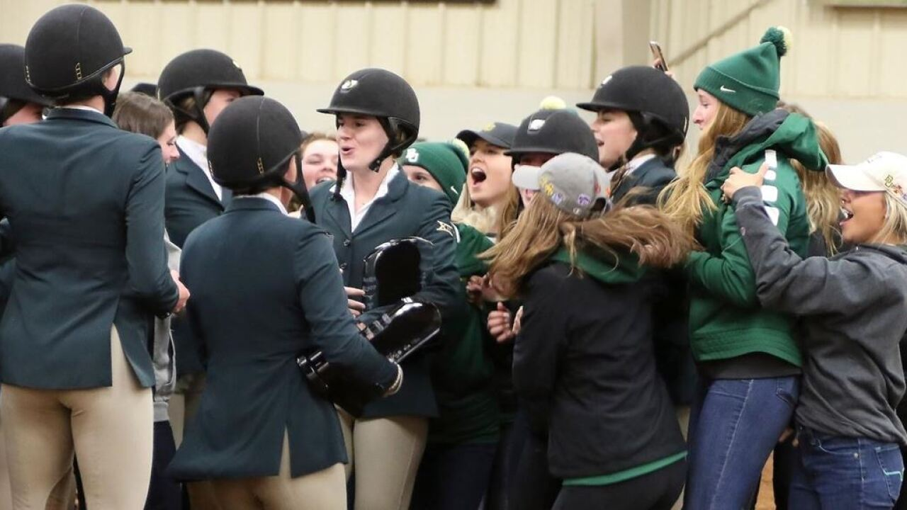Baylor Equestrian Releases 2019 20 Schedule