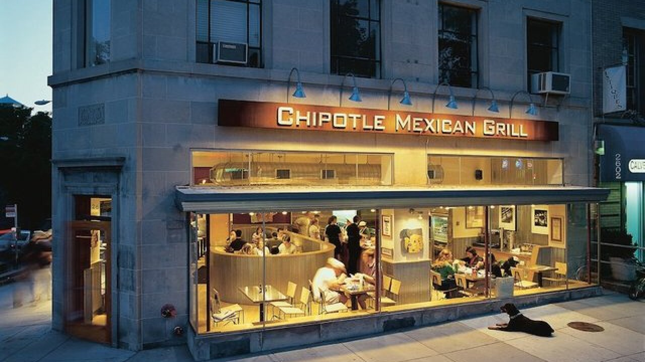 Chipotle stock drops on new illness report