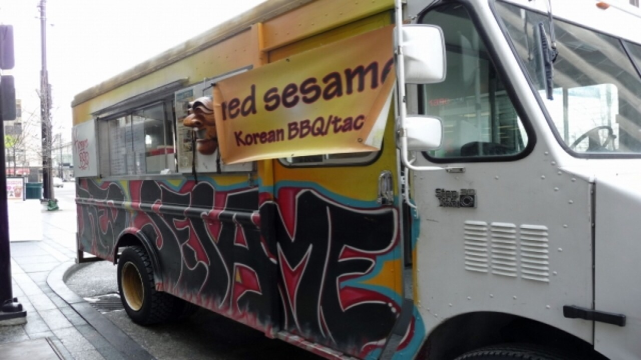 Head downtown today for food trucks, live music