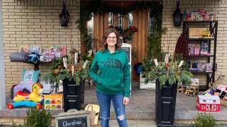 Nurse Opens Front Porch Christmas Shop