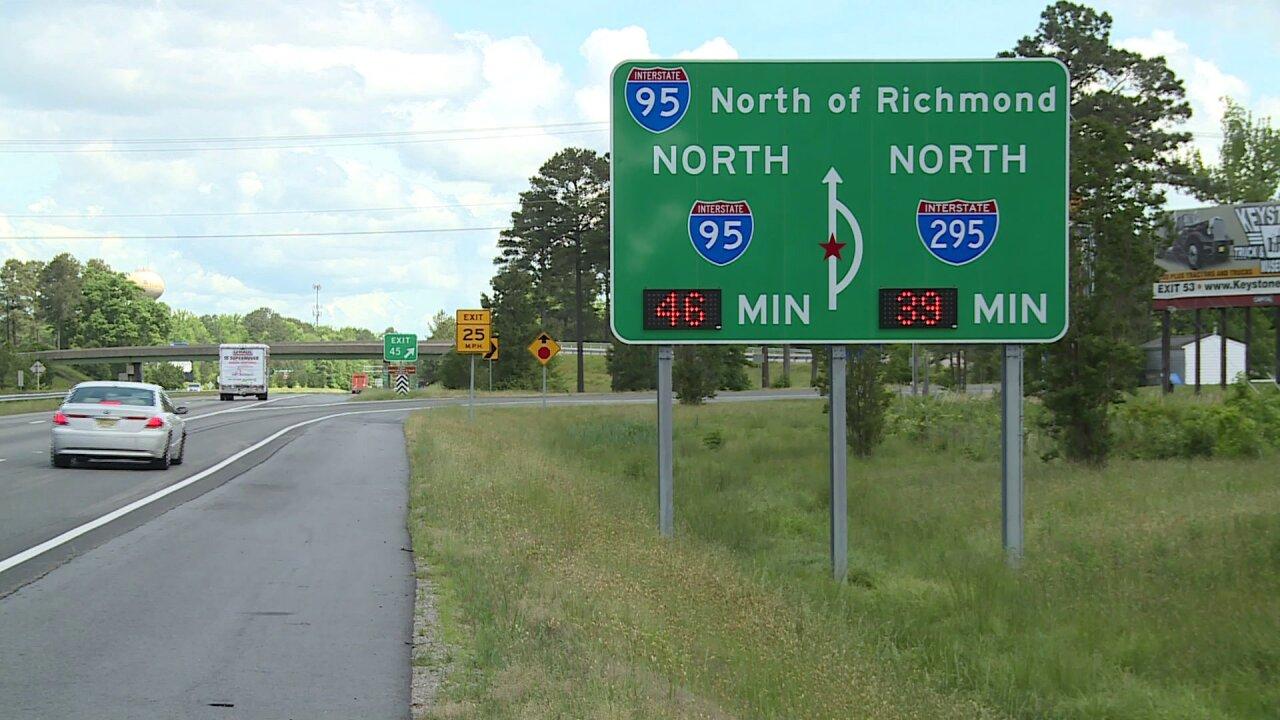 Despite some recent changes, drivers lament 'confusing' sign onI-95