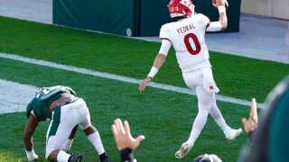 Rutgers snaps Big Ten skid, beats Michigan State 38-27
