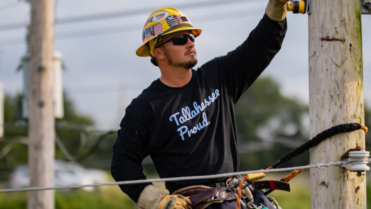 City of Tallahassee electric crews headed to Louisiana
