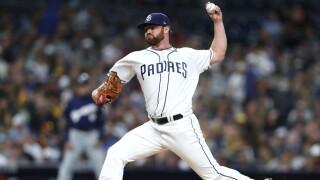 Logan Allen - Milwaukee Brewers v San Diego Padres