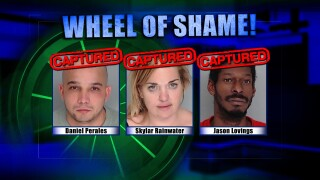 Wheel Of Shame Arrests: Daniel Perales, Skylar Rainwater & Jason Lovings