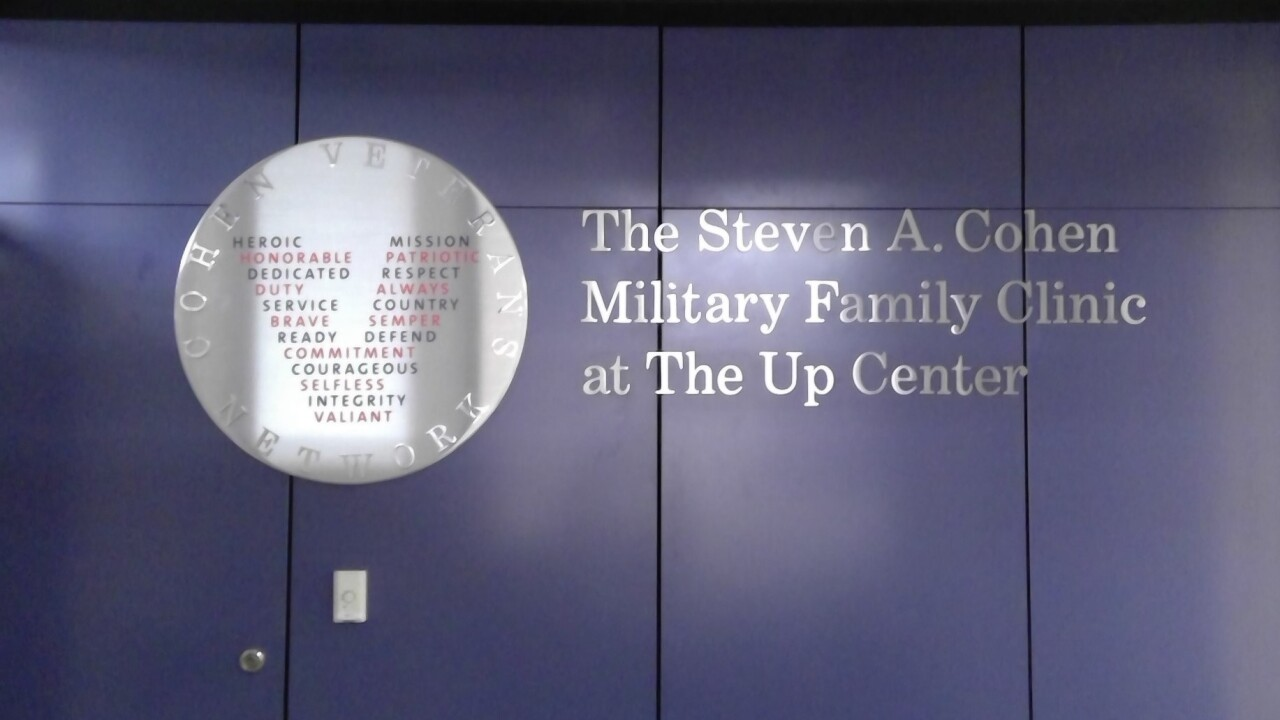 The Steven A. Cohen Military Family Clinic at The Up Center