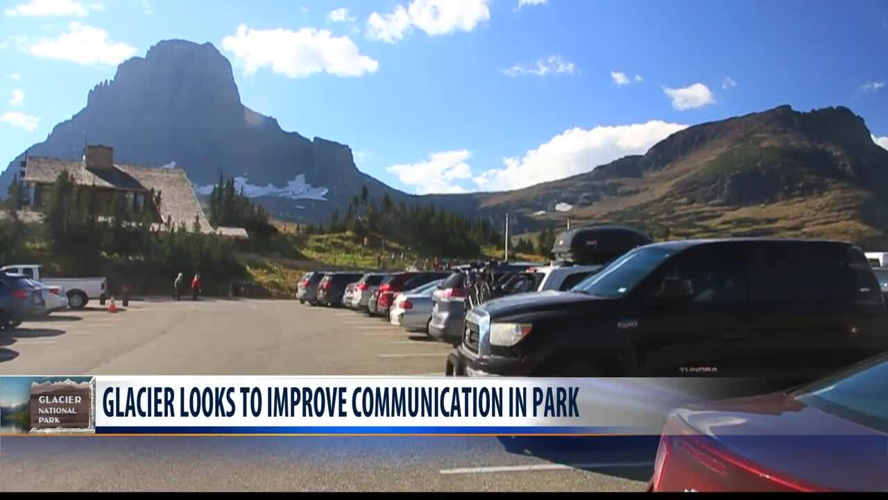 Glacier NP looking at new communications plan