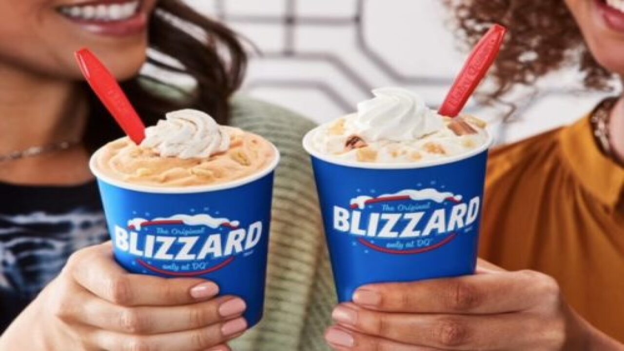 Dairy Queen Just Announced Their Fall Blizzard Offerings