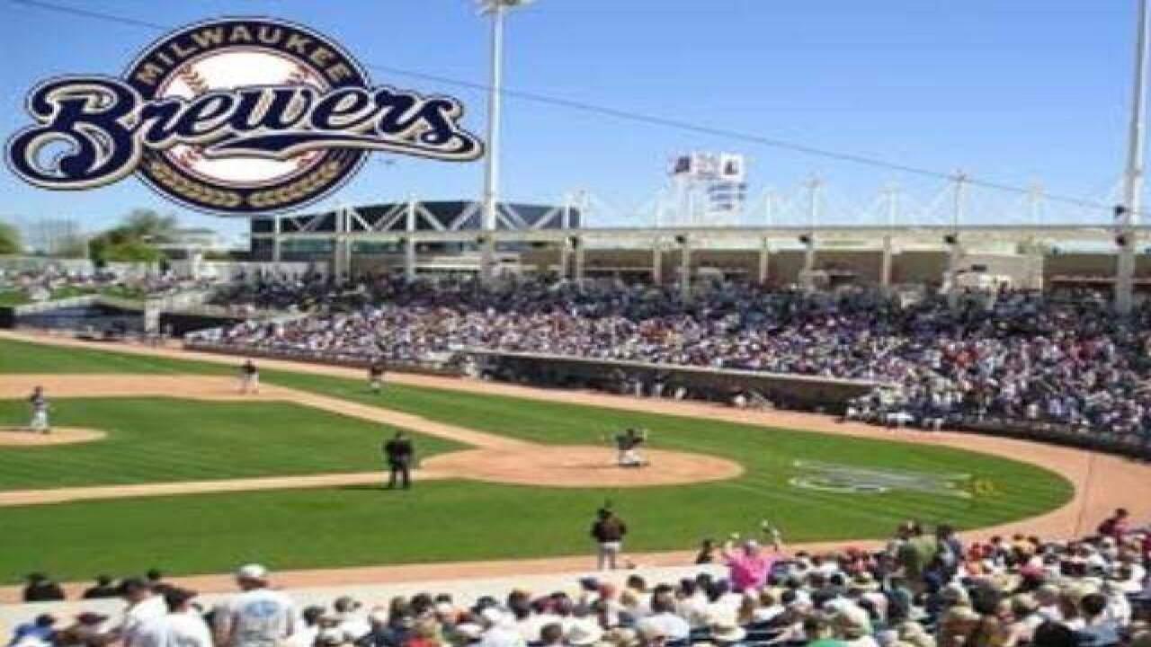 922502fb69ef0 2017 Cactus League Spring Training  Maryvale Baseball Park (Milwaukee  Brewers)
