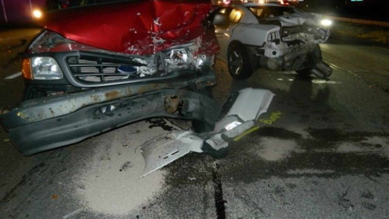 Indiana State Trooper rear-ended while at crash
