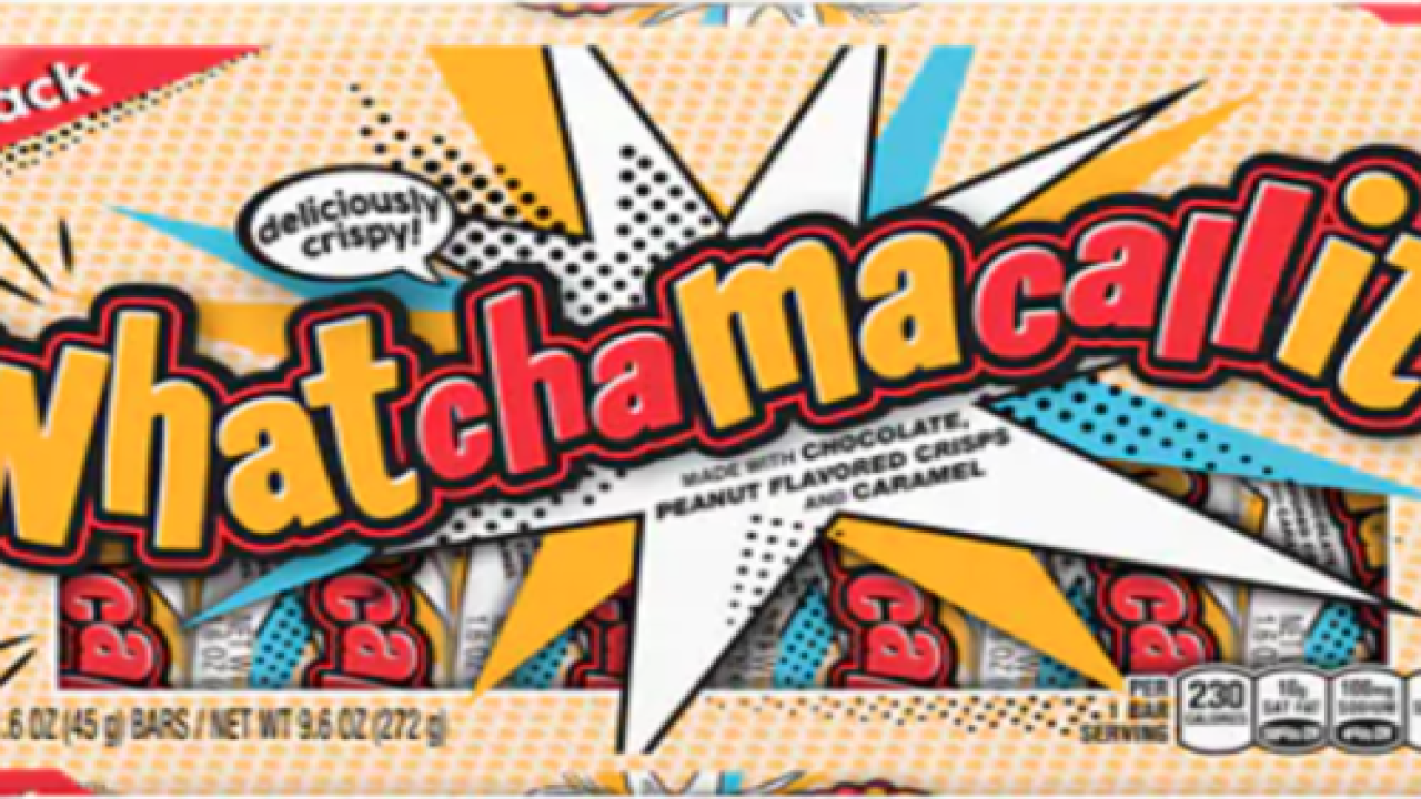 Whatchamacallit Introduces Its First New Candy Bar In 10 Years