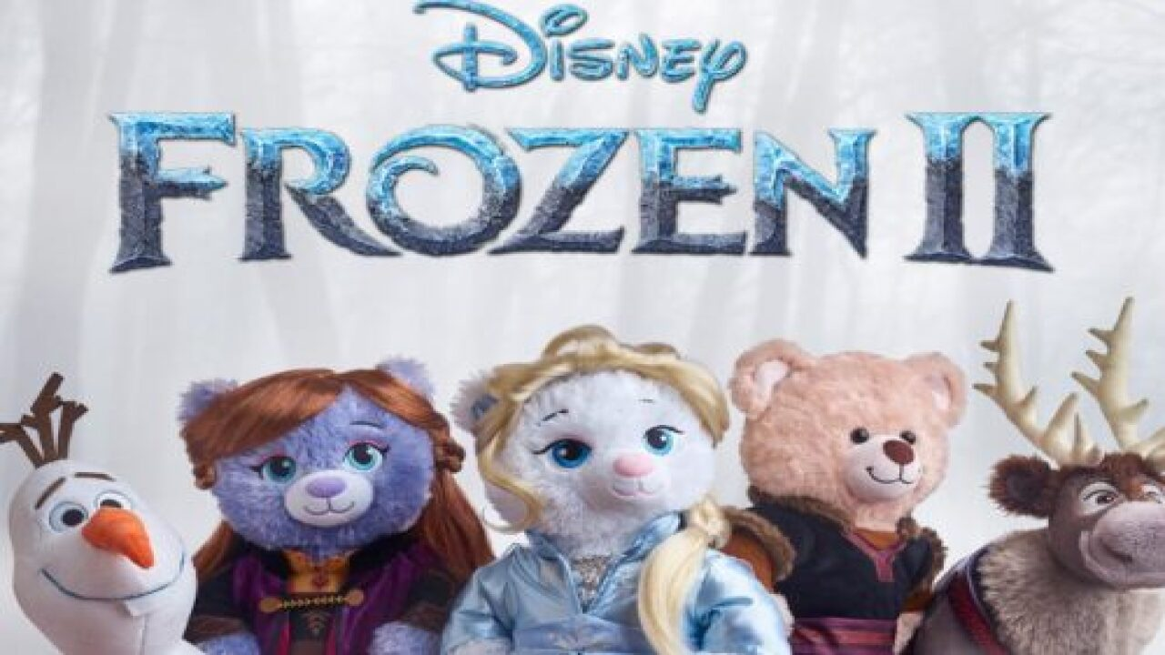Build-A-Bear Is Launching A 'Frozen 2' Collection