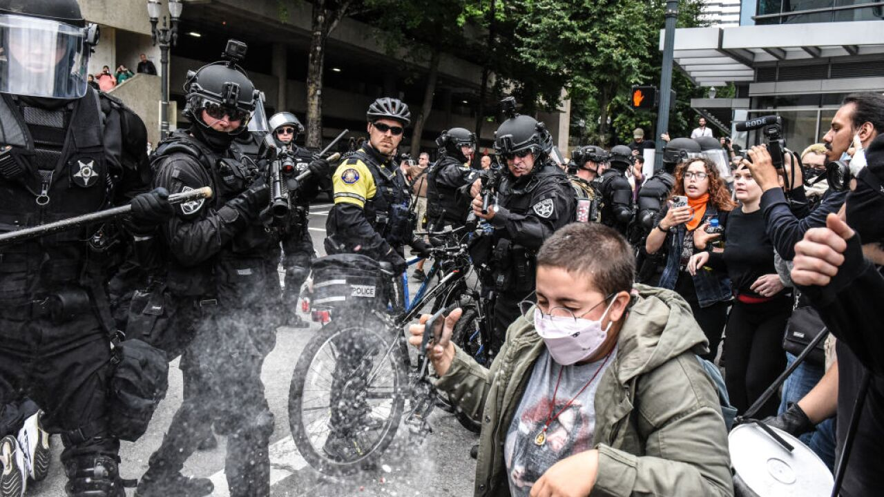 Portland protests end after 13 arrested and six injured