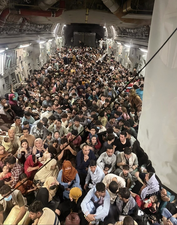 Afghanistan cargo plane