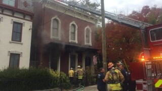 Fire at Covington mayor Joe Meyer house.jpg