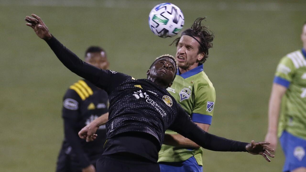 MLS Cup Sounders Crew Soccer