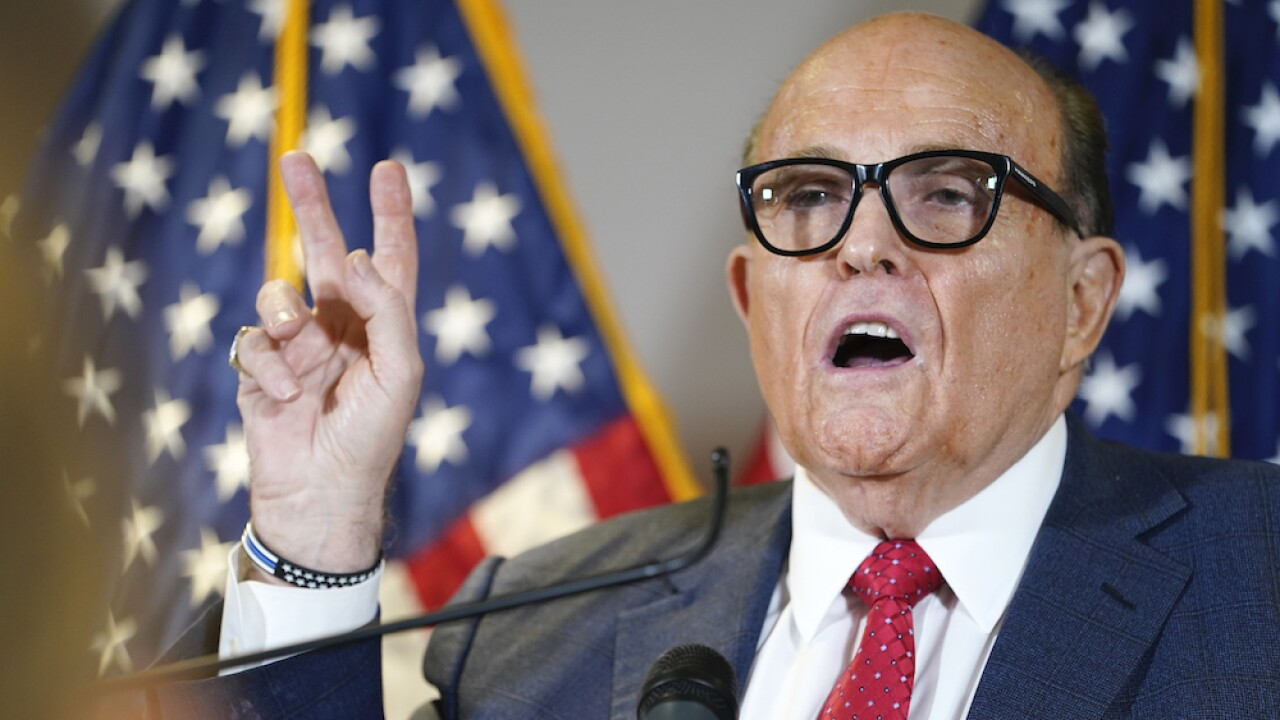 Rudy Giuliani has contracted COVID-19, Trump says