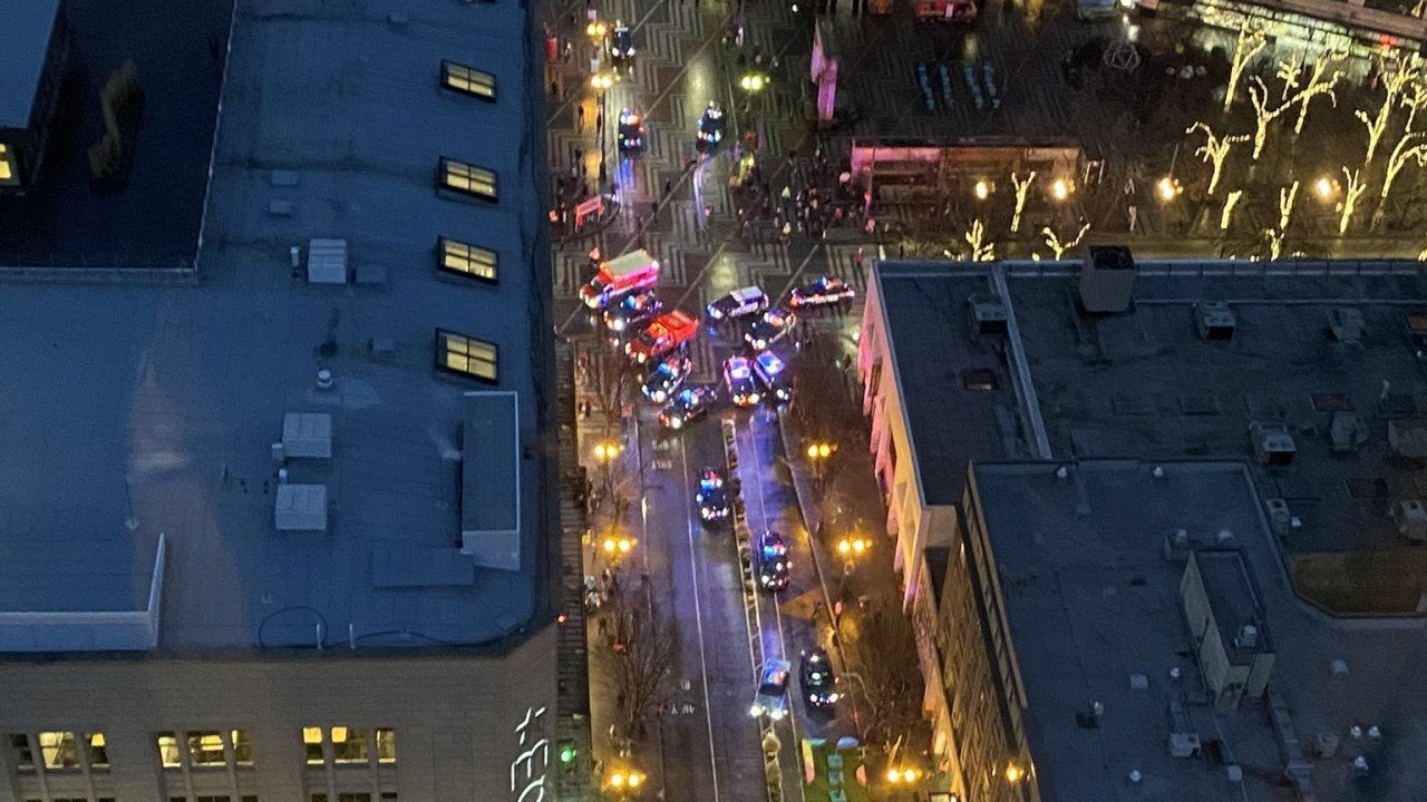 Multiple wounded in a reported shooting in downtown Seattle
