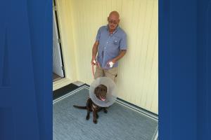 Florida man saves dog
