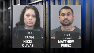 Matthew Perez and Nikki Olivas