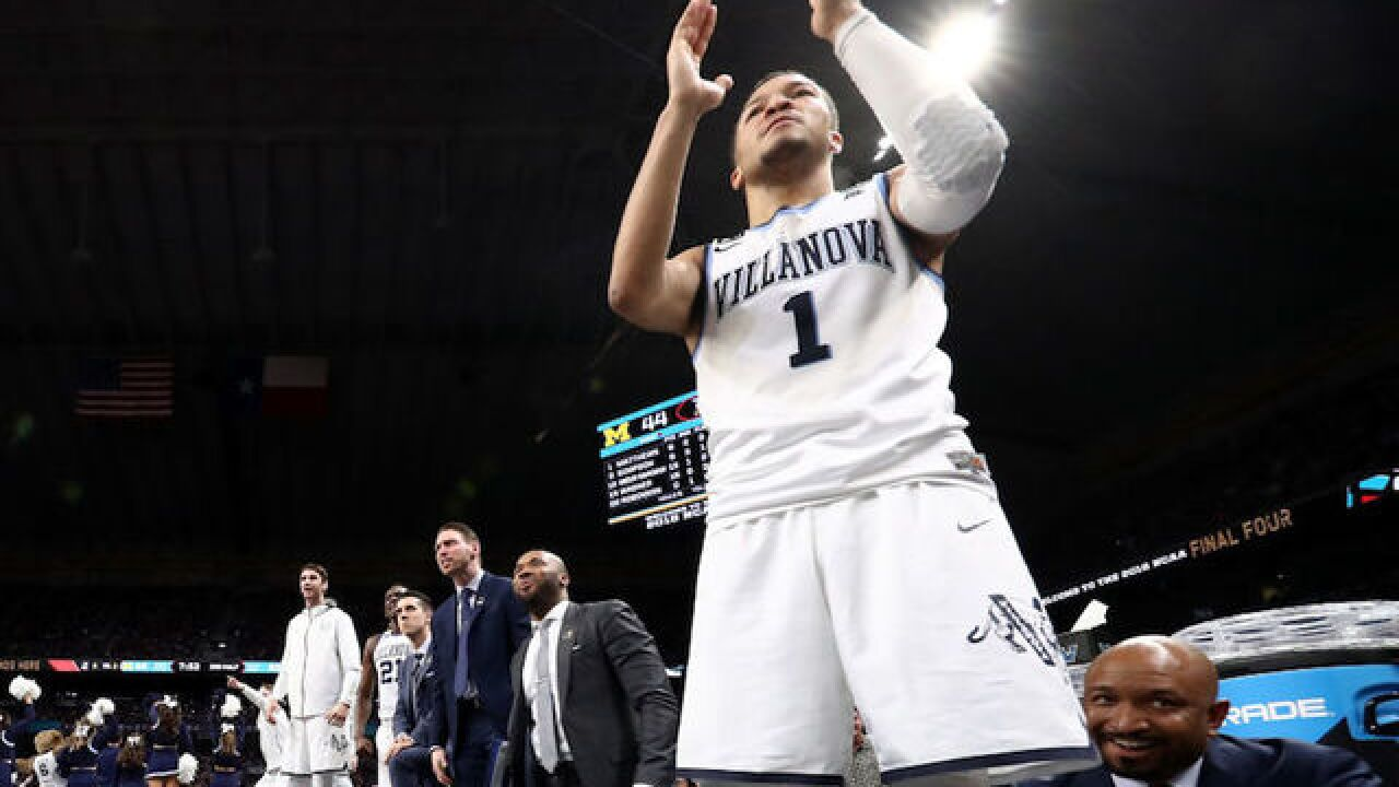 Villanova wallops Michigan for 2nd March Madness title in 3 years