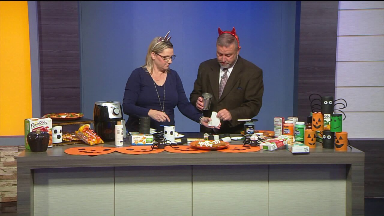 """Halloweeny"" Crafts &Snacks"
