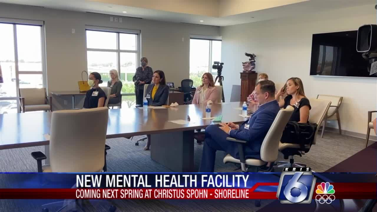 A new mental health care facility will open in the Coastal Bend next spring.