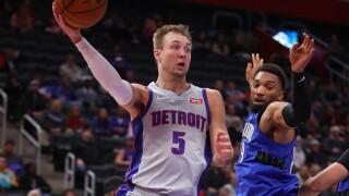 Luke_Kennard_Orlando Magic v Detroit Pistons