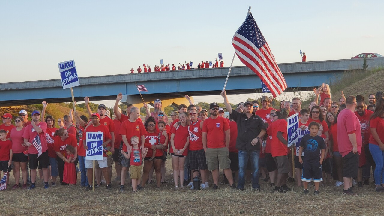 UAW Strike Day 7