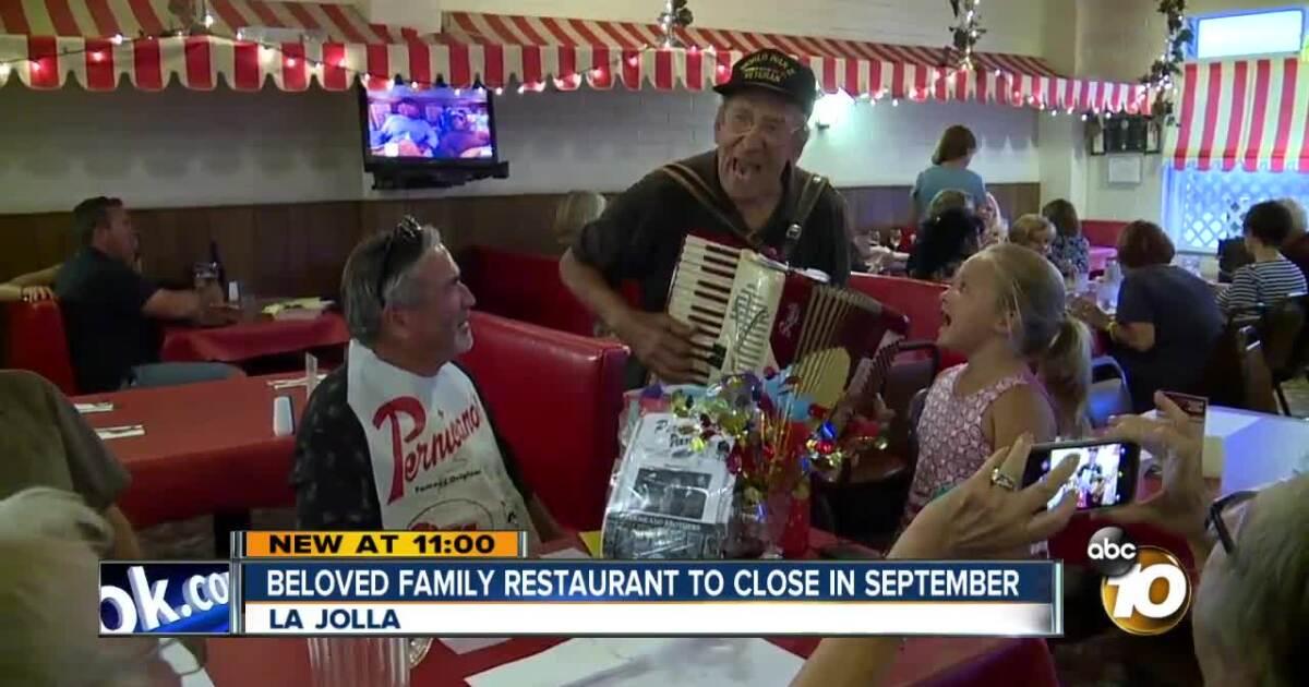 Longtime La Jolla staple, Pernicano's, set to close