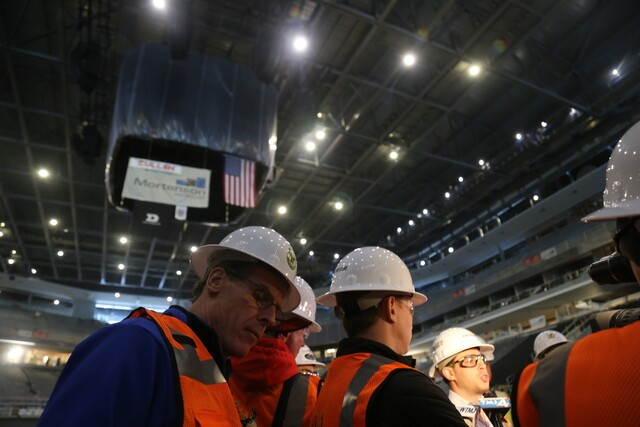 Inside the Milwaukee Bucks new arena under construction