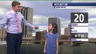 Meet our January Weather Kid, Chloe!