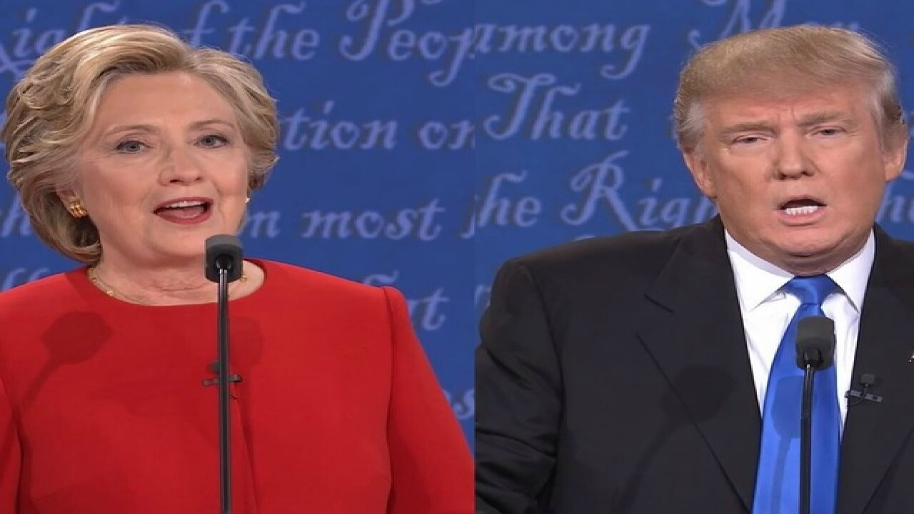 6PM: Clinton, Trump poised for debate showdown