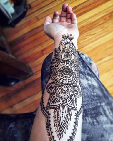 PHOTOS: New Irvington studio offers awesome henna