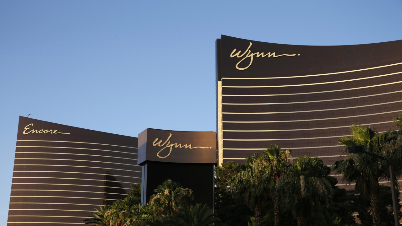 Wynn Resorts Settlement