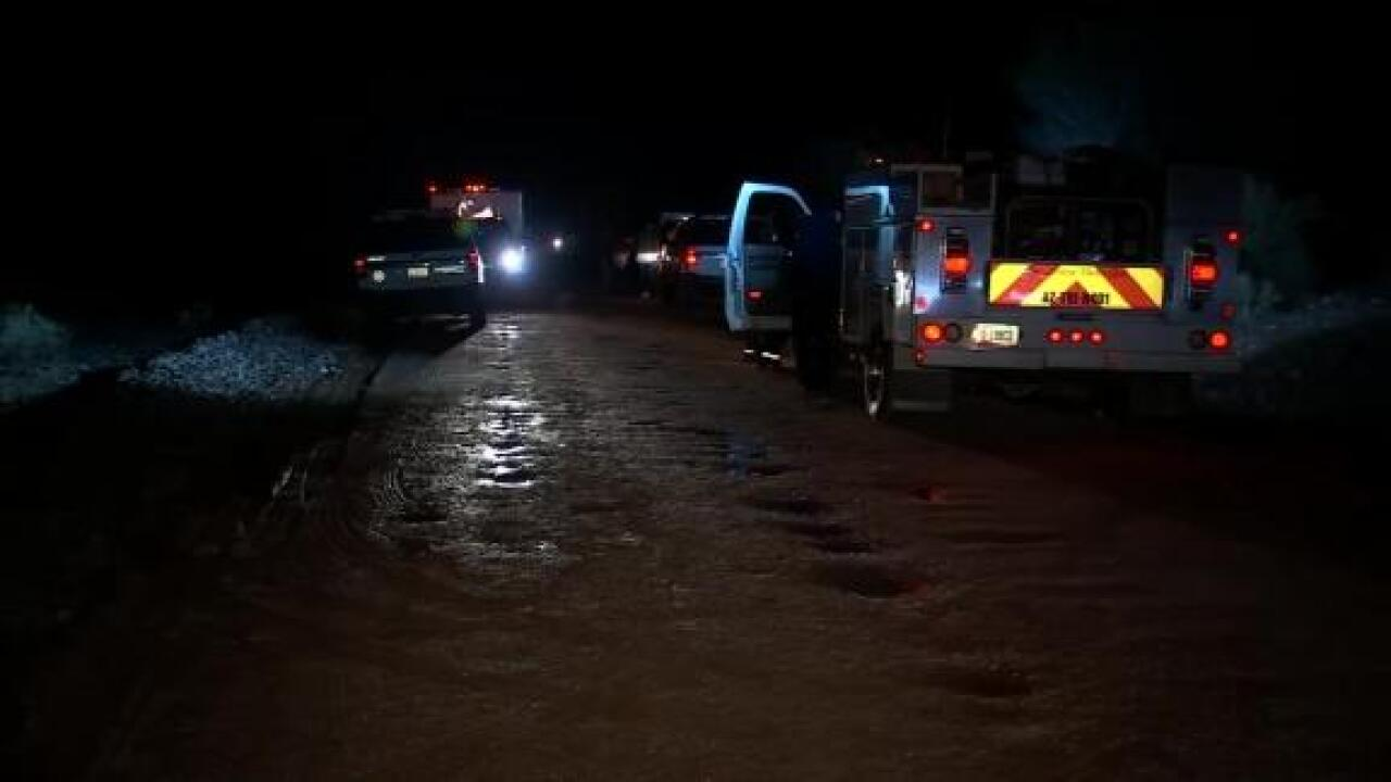 2 children dead, 1 missing after car swept away by flash flooding in Arizona