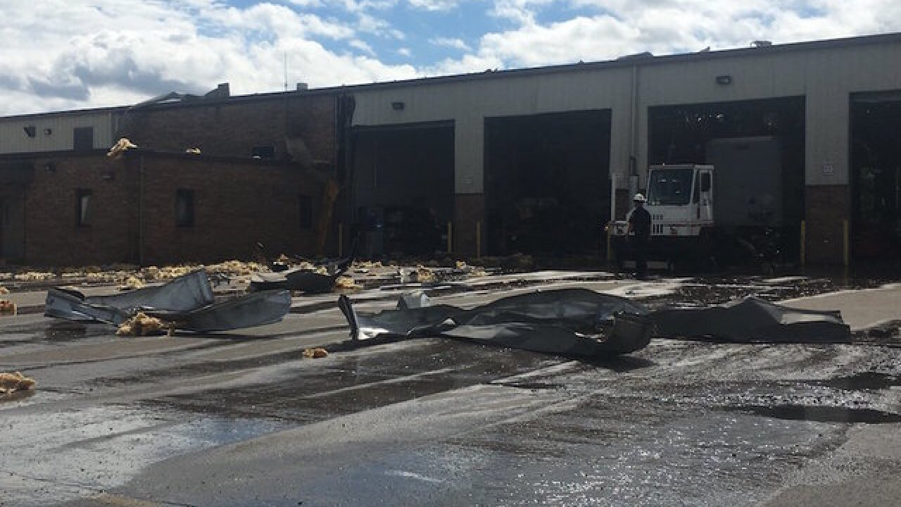 Explosion at UPS freight hub in Lexington, Kentucky injures 2