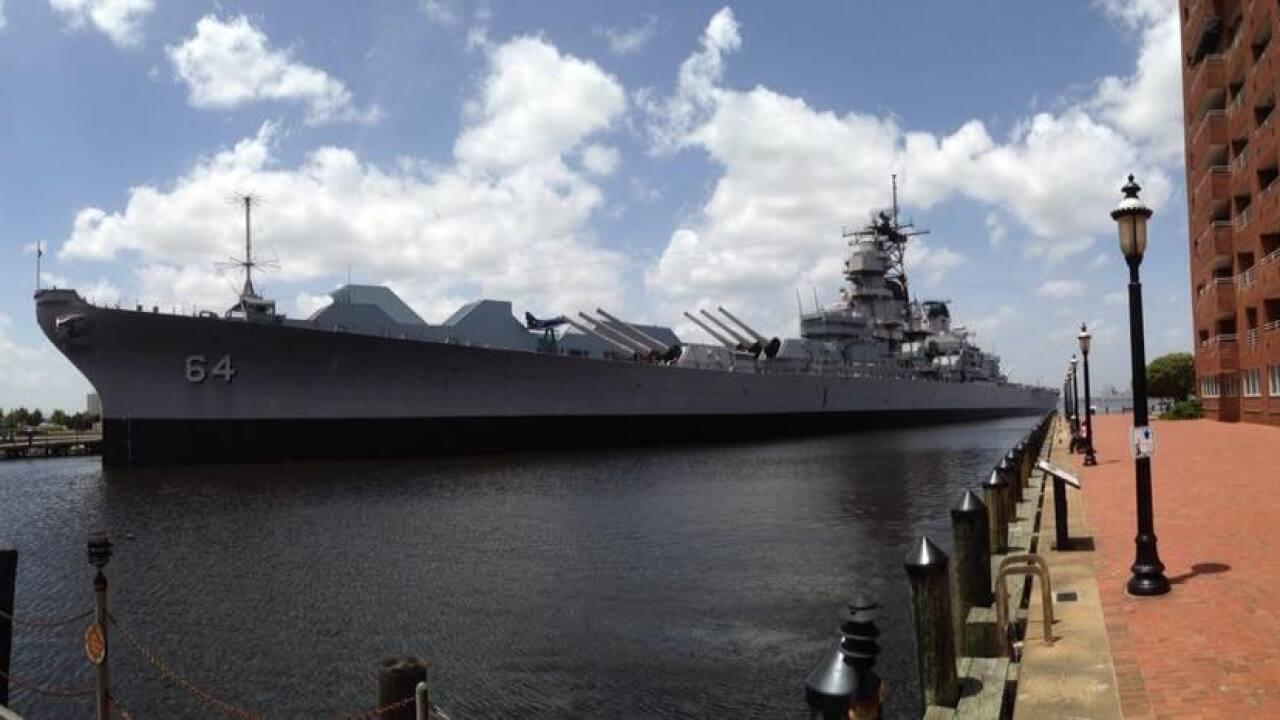 Nauticus to celebrate Battleship Wisconsin turning75
