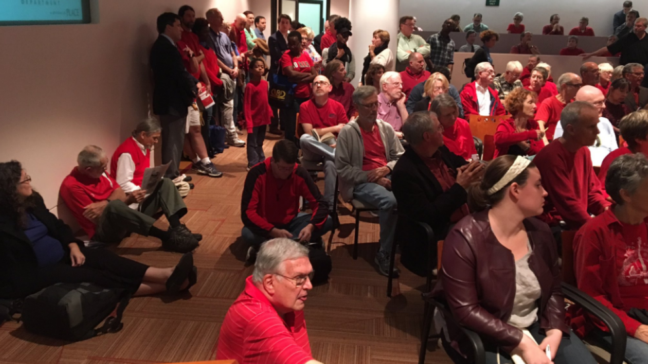 Residents Meet with City Officials about Potential Myers Park Rezoning