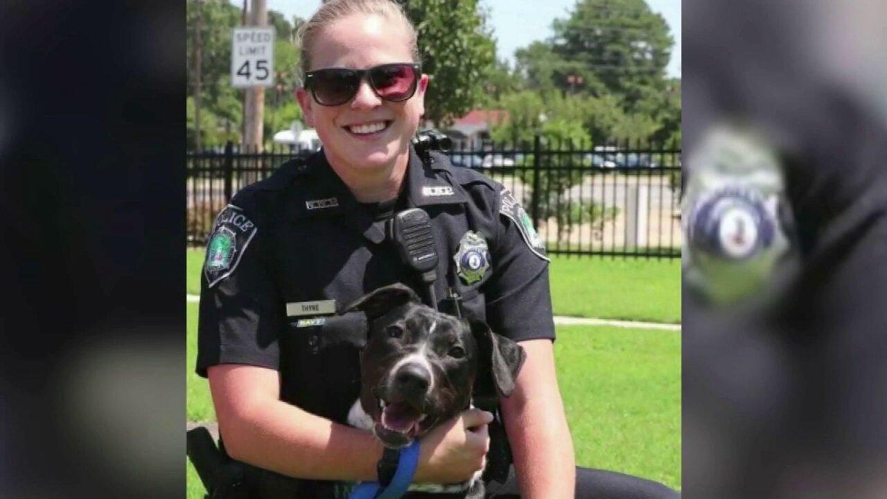 Newport News Police Officer Katie Thyne