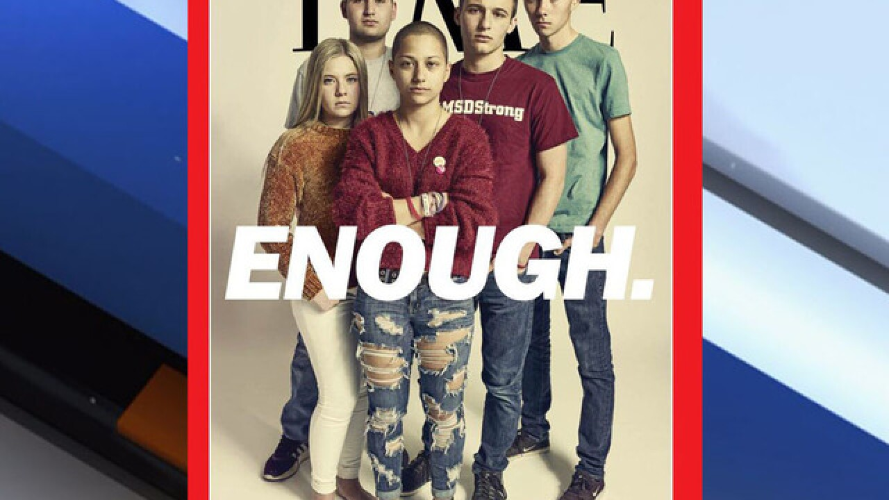 Parkland students featured on the cover of Time magazine